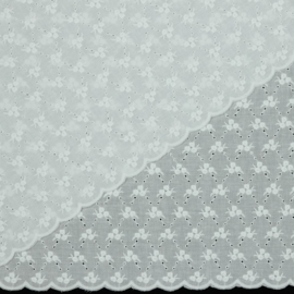 Broderie - Embroidery - White