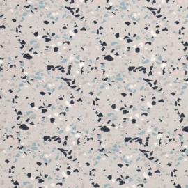Decostof | Confetti | Grijs  - Roze - Mint