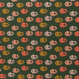 Tricot Print | Swafing | Blossom - Green