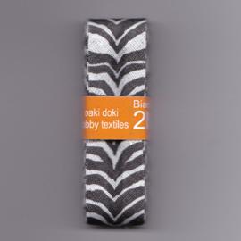 Biaisband | Zebra | 2 cm breed - 3 meter