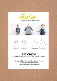 IKATEE | London | Baby Paper Sewing Pattern  - Easy 6 maanden - 4 jaar