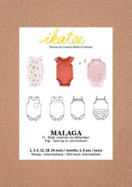 Ikatee | Malaga Bodysuit - Baby 1M/4Y - Paper Sewing Pattern