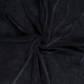 Heavy Velvet Knitted - Dark Bleu