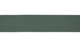 Tassenband Katoen |  Dusty Green   | 4cm breed
