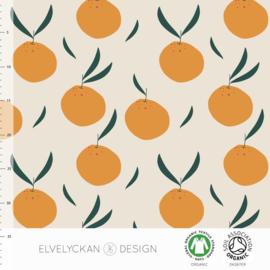 Elvelyckan design | tricot | Oranges | Organic