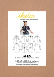 Ikatee Pattern | Alex Blouse or Dress - Kids 3/12Y