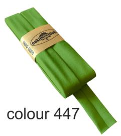 Tricot biaisband | Groen  | col. 447