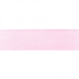 Tassenband Katoen |  Lichtroze  | 4cm breed