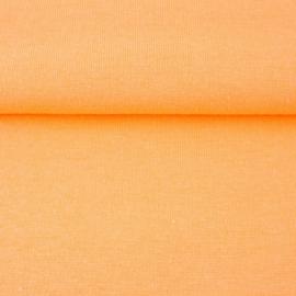 tricot boord uni | licht oranje