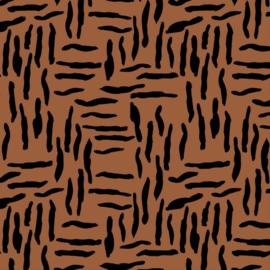 Oilskin | Zebraish Abstract - Stone
