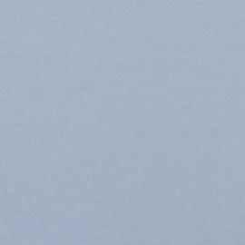 Tricot soft Sweat  | Biologische Katoen |  Blue