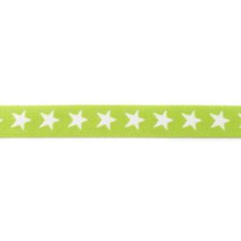 Elastiek Ster | 2,5 cm | Lime