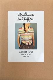 Republique du chiffon | Juliette shirt | Engelstalig