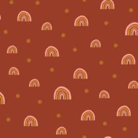 Soft Sweat GOTS | Rainbow - Rust