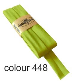Tricot biaisband | Lime  | col. 448