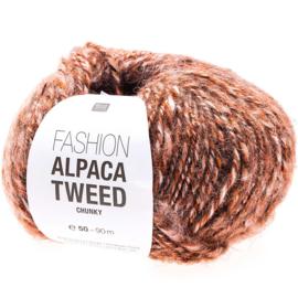 Rico Design | Fashion Alpaca Tweed Chunky - Red 002
