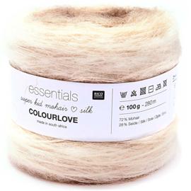 Superkid Mohair Loves Silk - Colourlove |  010 Ecru