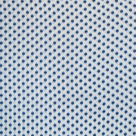 viscose | fantasieprint | blauw - wit | Swafing