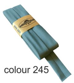 Tricot biaisband | Licht Petrol  | col. 245
