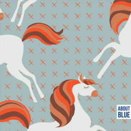 About Blue Fabrics | Unicorns Picknick