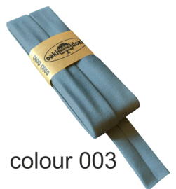 tricot biaisband | blauw | col. 003