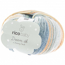 Rico Design |Baby Dream  dk - Luxury touch | Petrol - Geel 013