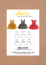 Ikatee Pattern | Milano dress - Baby Girl 6M/4Y