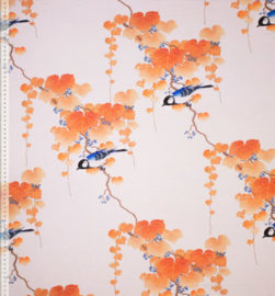 Tricot Print | French Terry - Mies en Moos - Autumn Bird