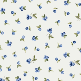 Family Fabrics | Tricot print | Blueberry