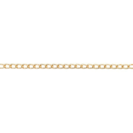 Schakelketting 1.4 mm | Goud