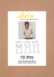 Ikatee | Vic Mum Cardigan - 34/46 - Paper Sewing Pattern