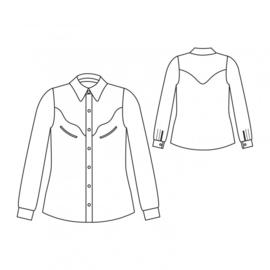 Republique du Chiffon | Jolaine shirt | Engelstalig