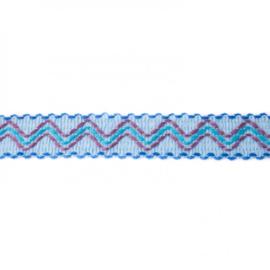 ibiza band blauw/ 3 cm breed