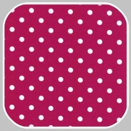 katoen Dot | S | donker cyclaam