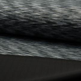 sport tricot | Saturnus | zwart-grijs