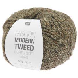 Rico Design   Fashion Modern Tweed Aran -  Anthracite