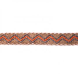 ibiza band zand/ 3 cm breed