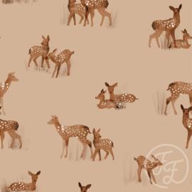 Family Fabrics | Tricot Print | Hertjes