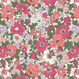 Liberty of London | Cosmow Meadow - Dark Pink