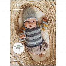 Rico Design | Baby Dream Uni - a luxury touch  | Grijs 005