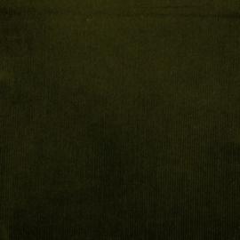 Ribcord washed   8 W stretch   Dark Green