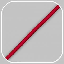 elastiekkoord - rood /  ±Ø 3mm