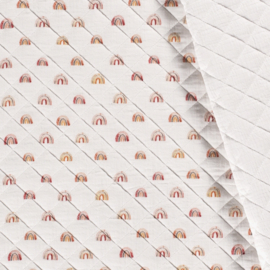 Double Gauze - Mousseline Quilted | Rainbow
