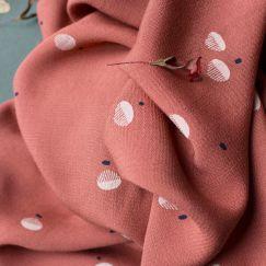 Atelier Brunette | Viscose EcoVero | Seed Chestnut Fabric