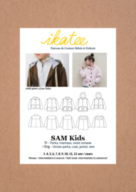 IKATEE | Sam kids - parka, jacket - Unisex 3/12 - Paper Sewing Pattern