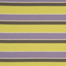 Knitted - Sparkling Stripe Christa -  Lime - Lilac