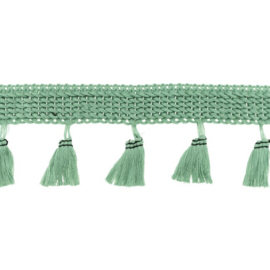 Flosjesband Uni - Oud Groen