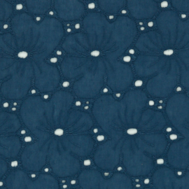 Broderie - Embroidery - Blue