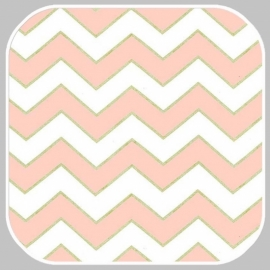 chic chevron pearlized MC5709-BLUSH