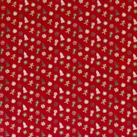 Kerst | Peperkoekmannetje - Rood